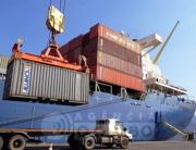 Containers no Porto do RIo de Janeiro